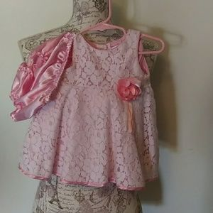 Formal infant dress by Youngland Baby